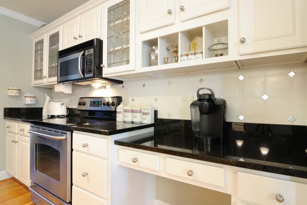 A Good Mix of Styles kitchen cabinet ideas