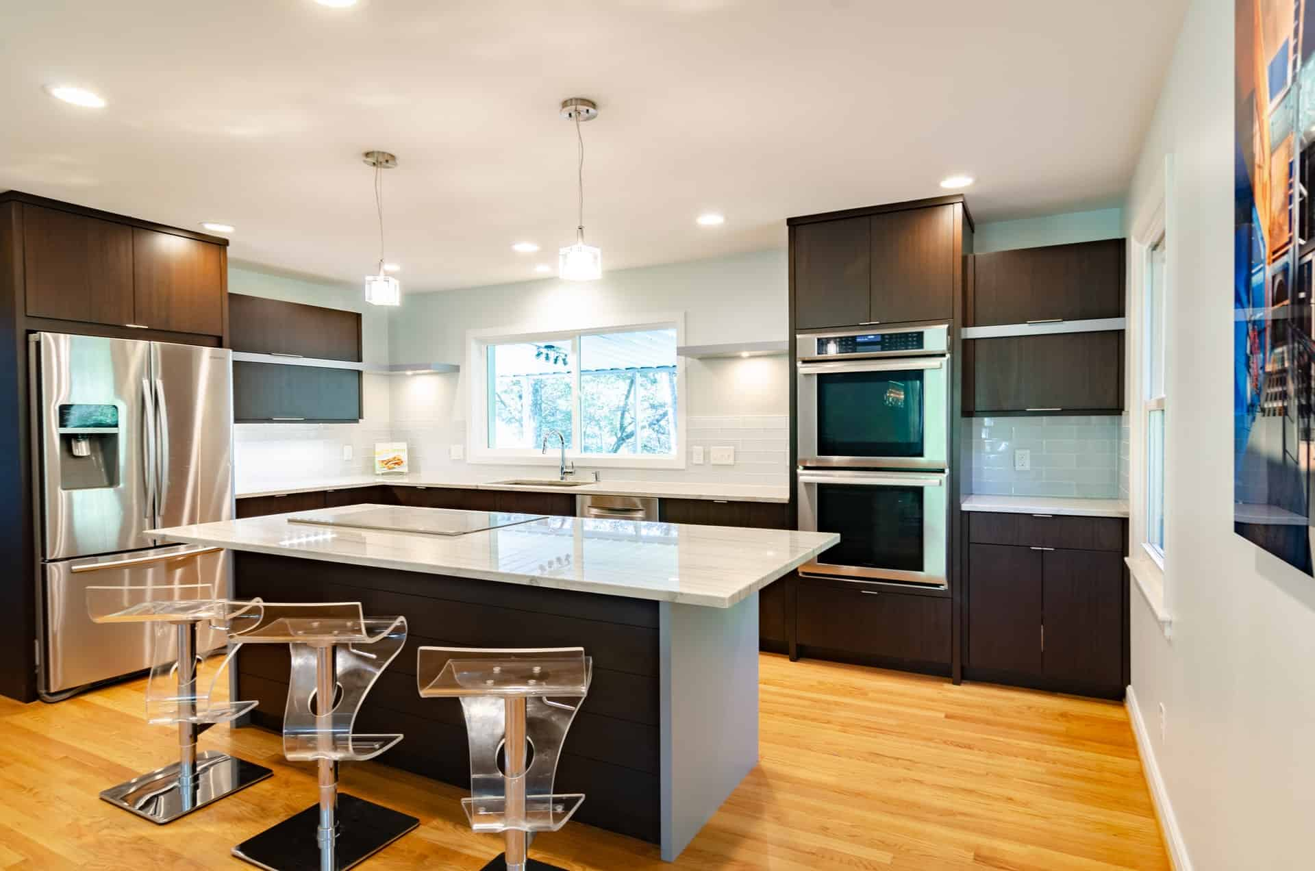 A Modern Kitchen in a 60s Ranch Style Home modern kitchen ideas