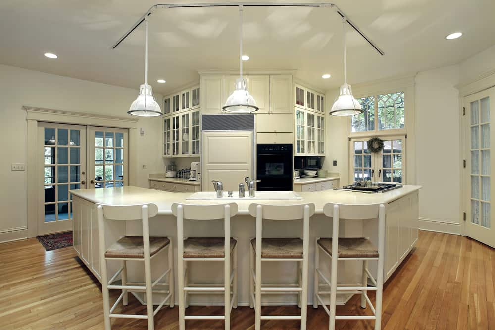 A Nod to Provincial Style kitchen bar ideas