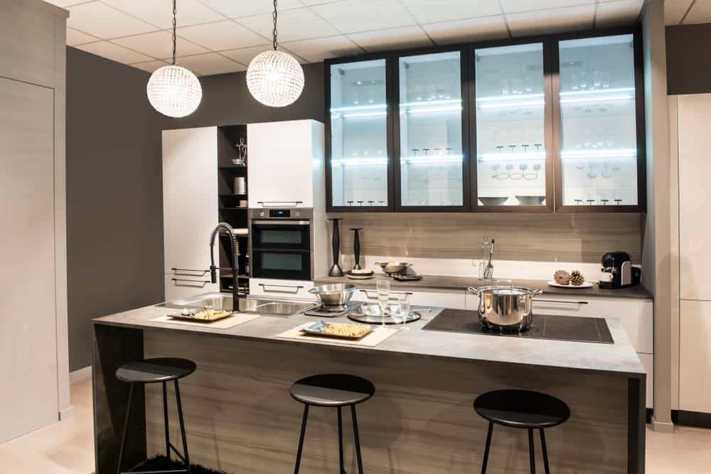 A Shapely Space kitchen bar ideas