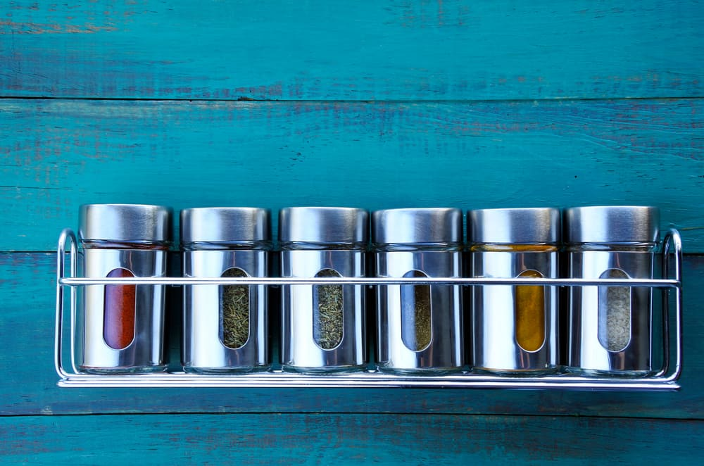 A Spice Rack for Easy Access kitchen cabinet hardware ideas