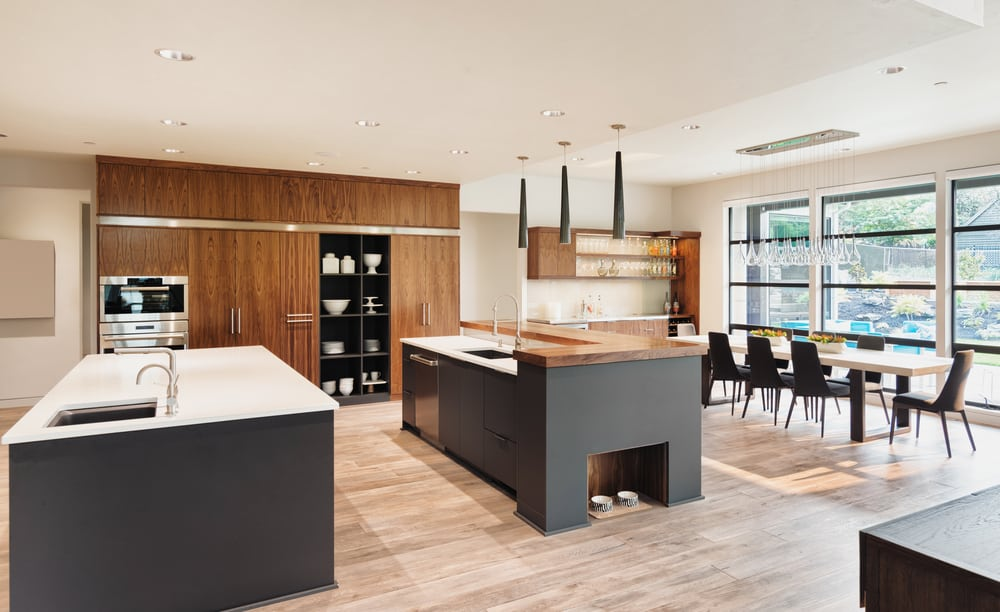 A Vertical Display Space kitchen cabinet ideas