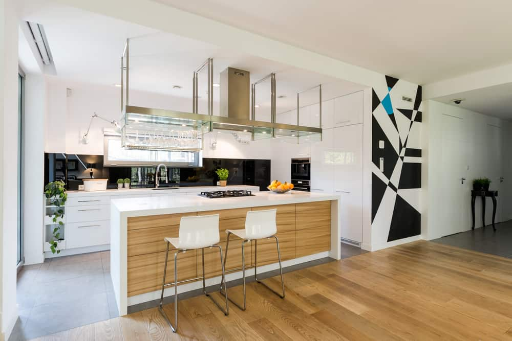 Accent it Large modern kitchen ideas