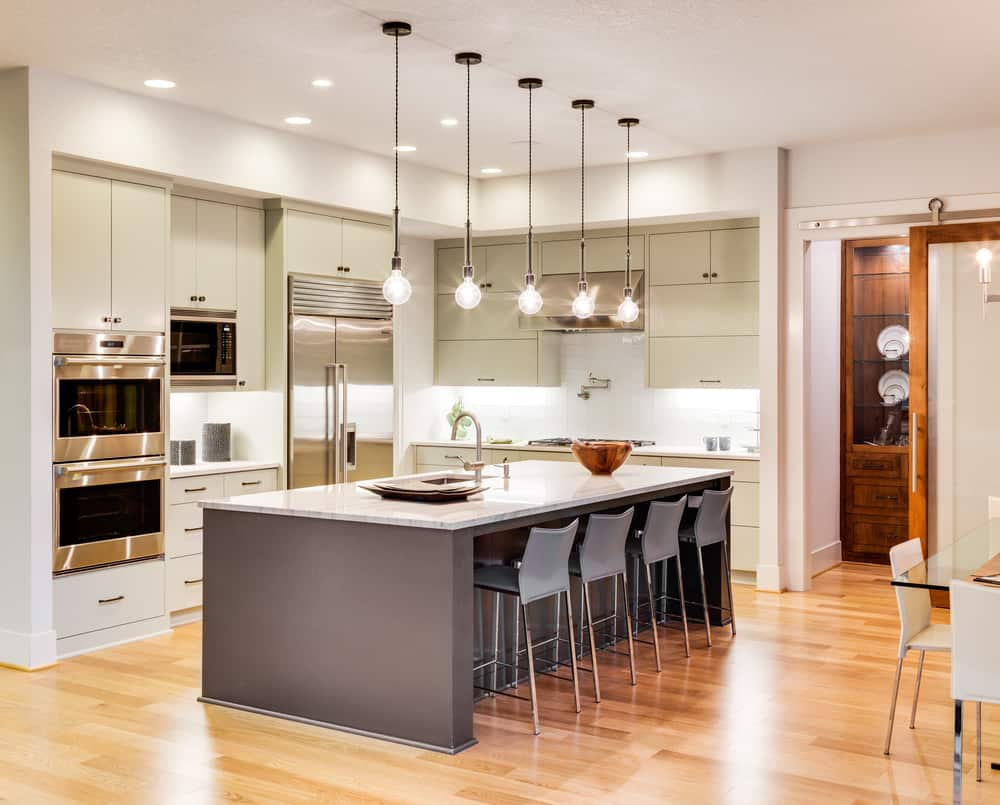 Bright Lighting kitchen makeover ideas
