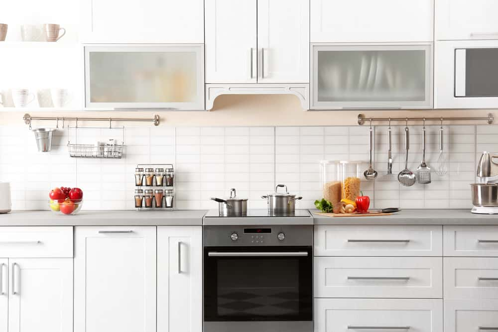 Bright White Cabinets kitchen makeover ideas
