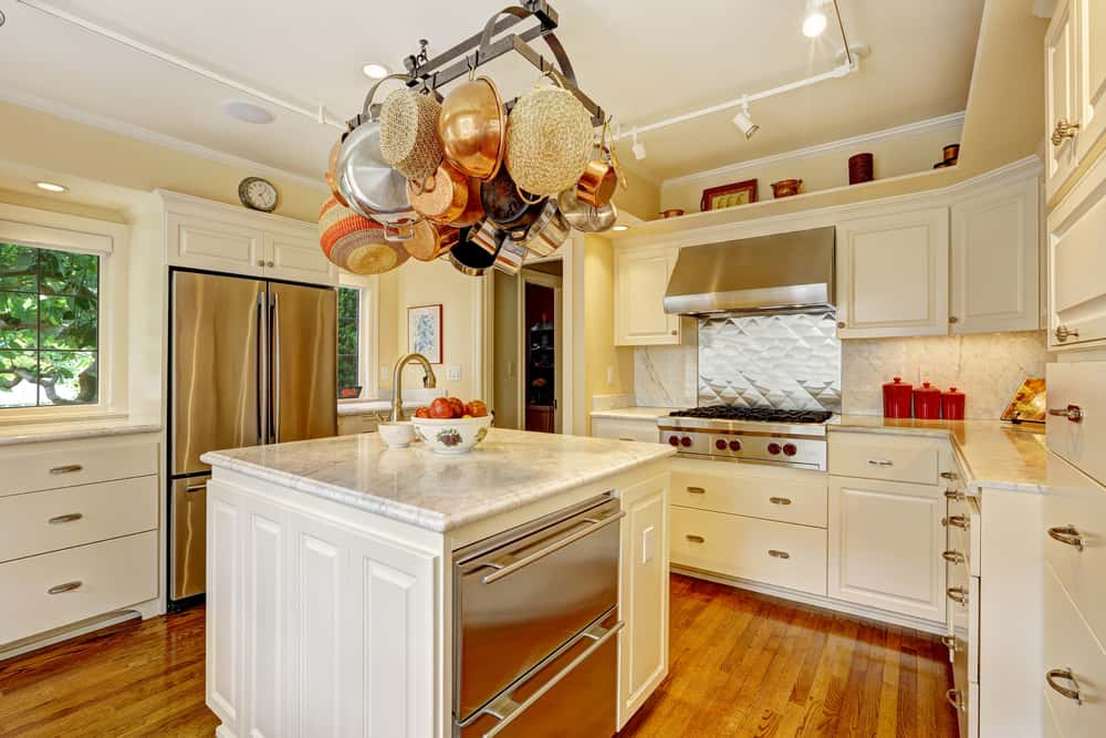 Bring Out the Copper white kitchen ideas