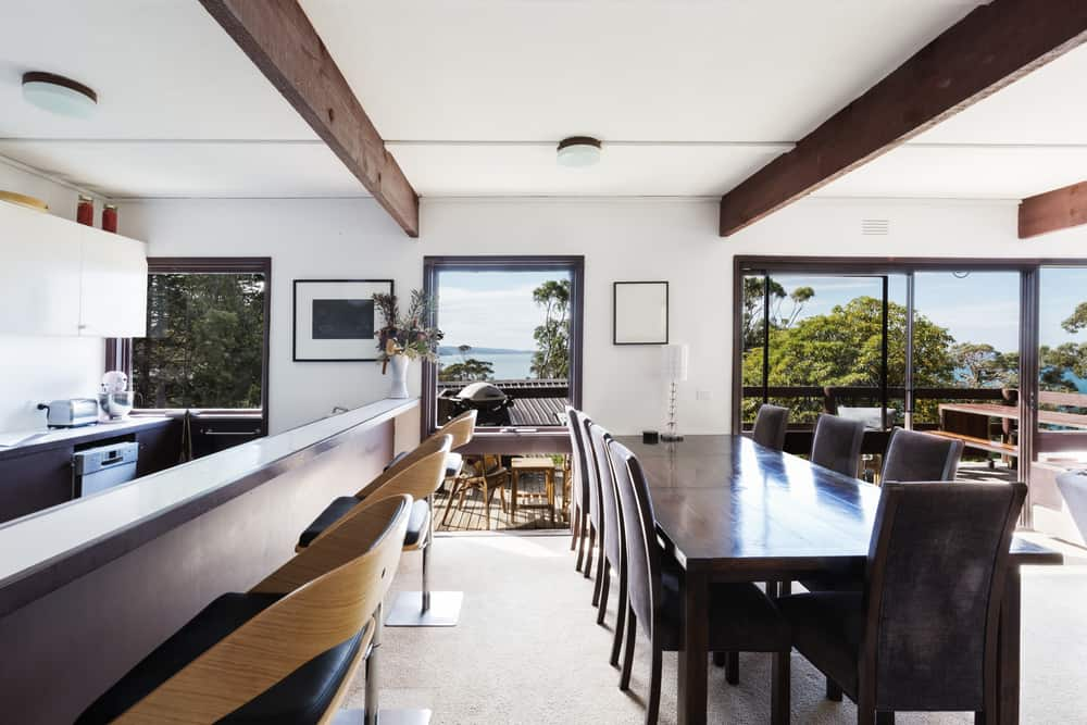 Bring the Sun and the Ocean In coastal kitchen ideas