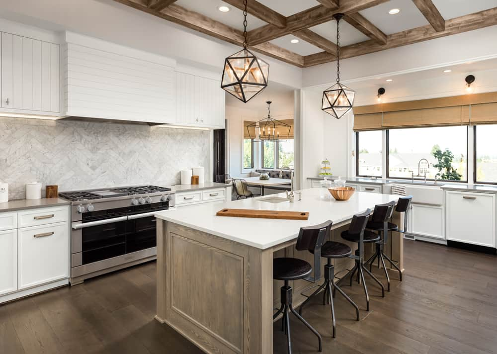 Coffered Ceiling kitchen ceiling ideas