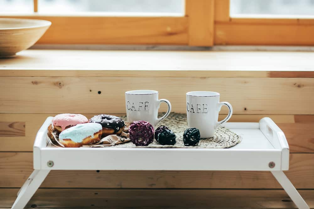 Collapsible Coffee Tray kitchen coffee bar ideas