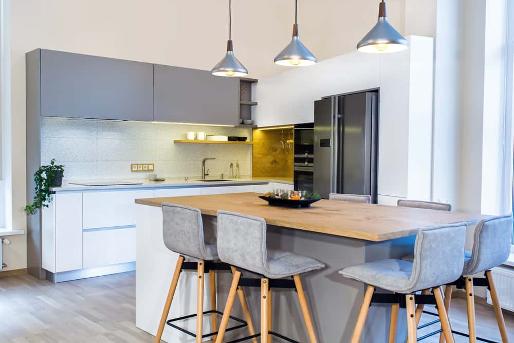 Cool, Calm and Contemporary kitchen bar ideas