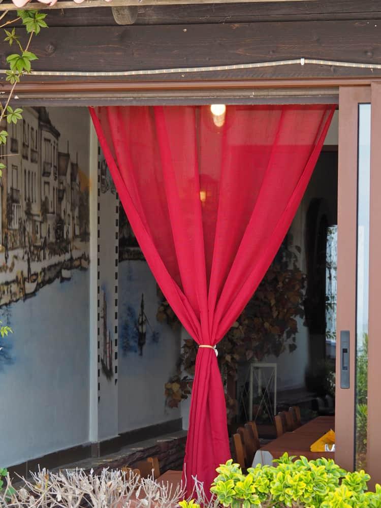 Crimson Curtains kitchen curtain ideas