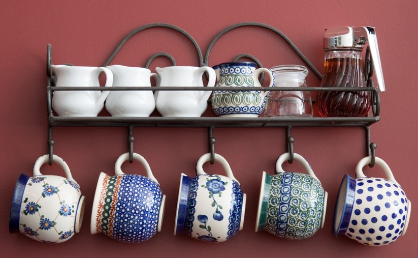 Cup Hangers small kitchen ideas
