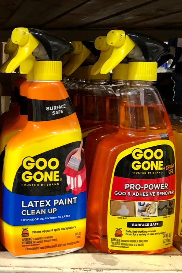 Deep Cleaning Kitchen Cabinets with Goo Gone