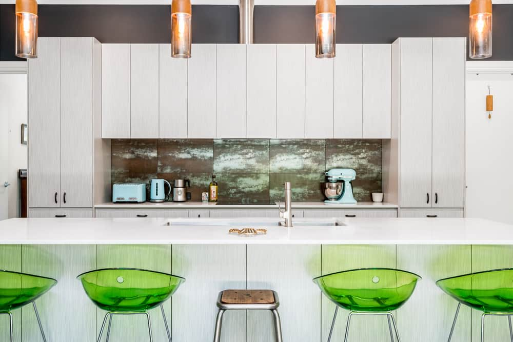 Feature Your Furniture white kitchen ideas