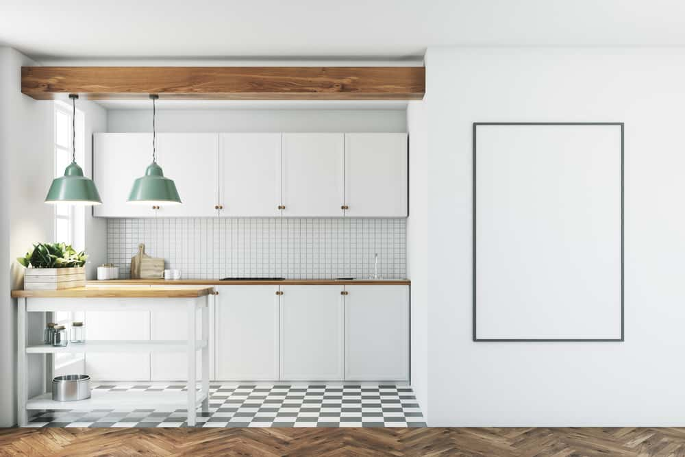 Free Floor Space kitchen makeover ideas