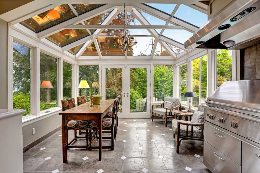 Glass Ceilings kitchen ceiling ideas