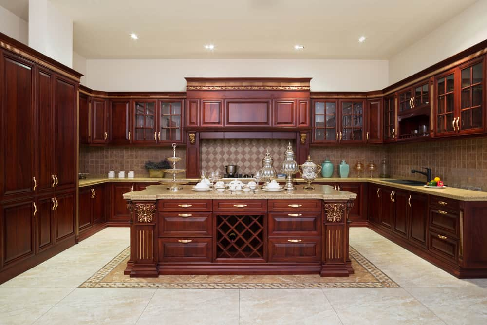 Highlight the Beauty of Your Wood Cabinets kitchen cabinet ideas