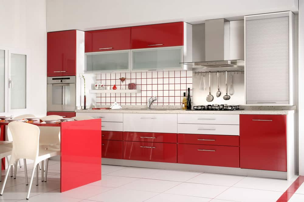Lacquered Cabinets modern kitchen ideas