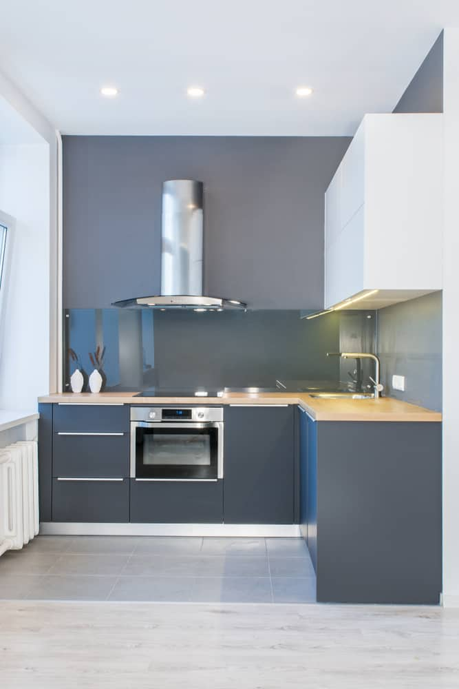 Match it to the Walls painted kitchen cabinets ideas