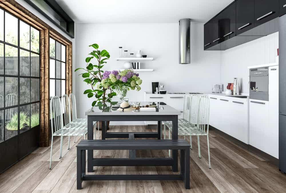 Mismatched Materials and Colours kitchen table ideas