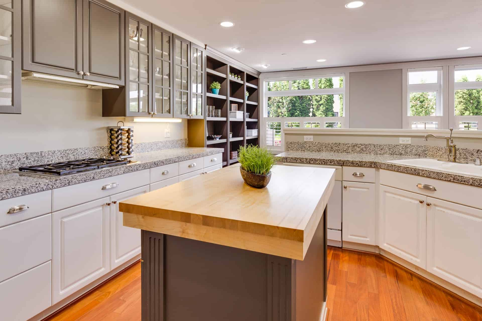 Mix Your Cabinets modern kitchen ideas