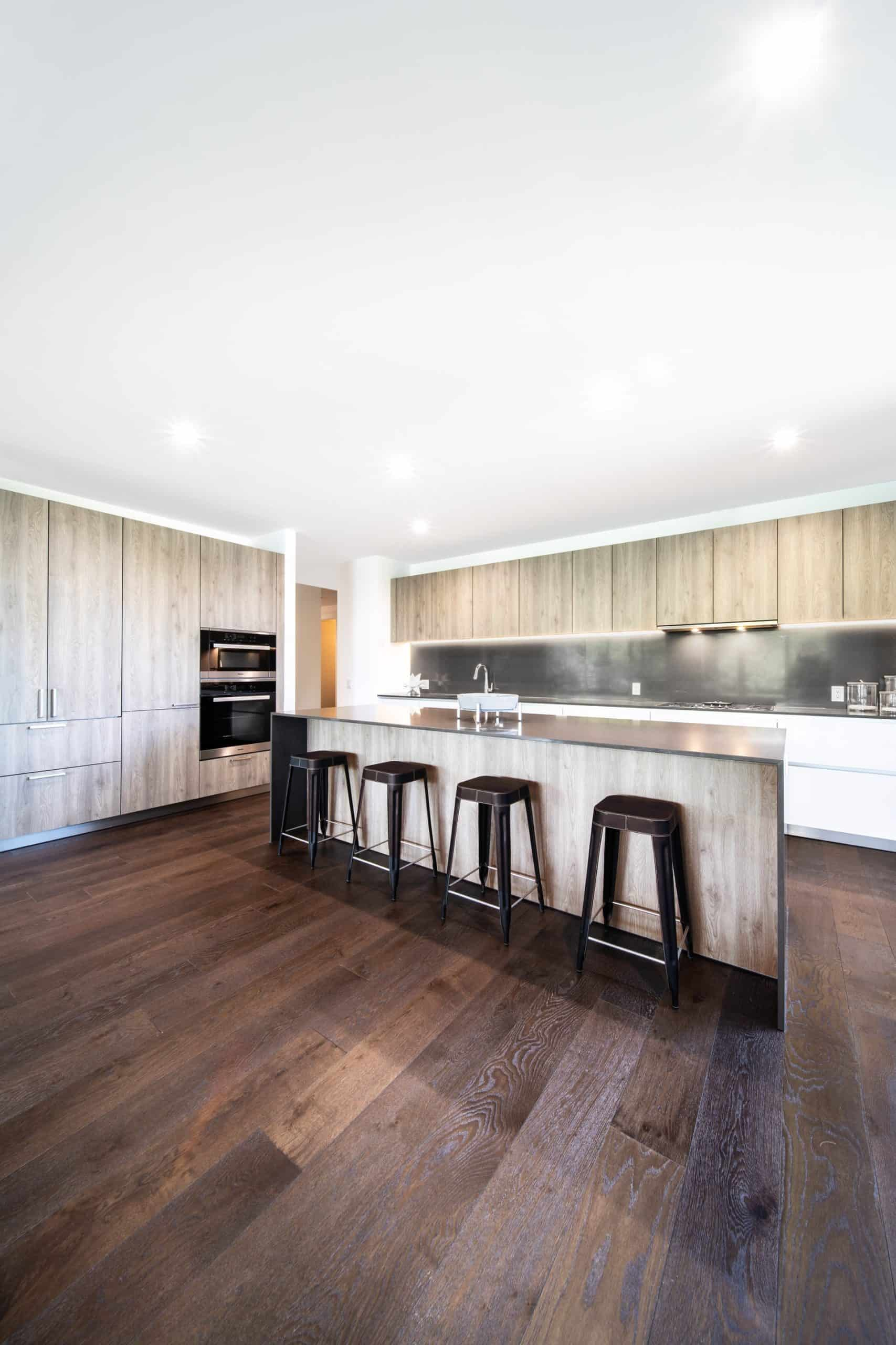 No Such Thing as Too Much Wood modern kitchen ideas
