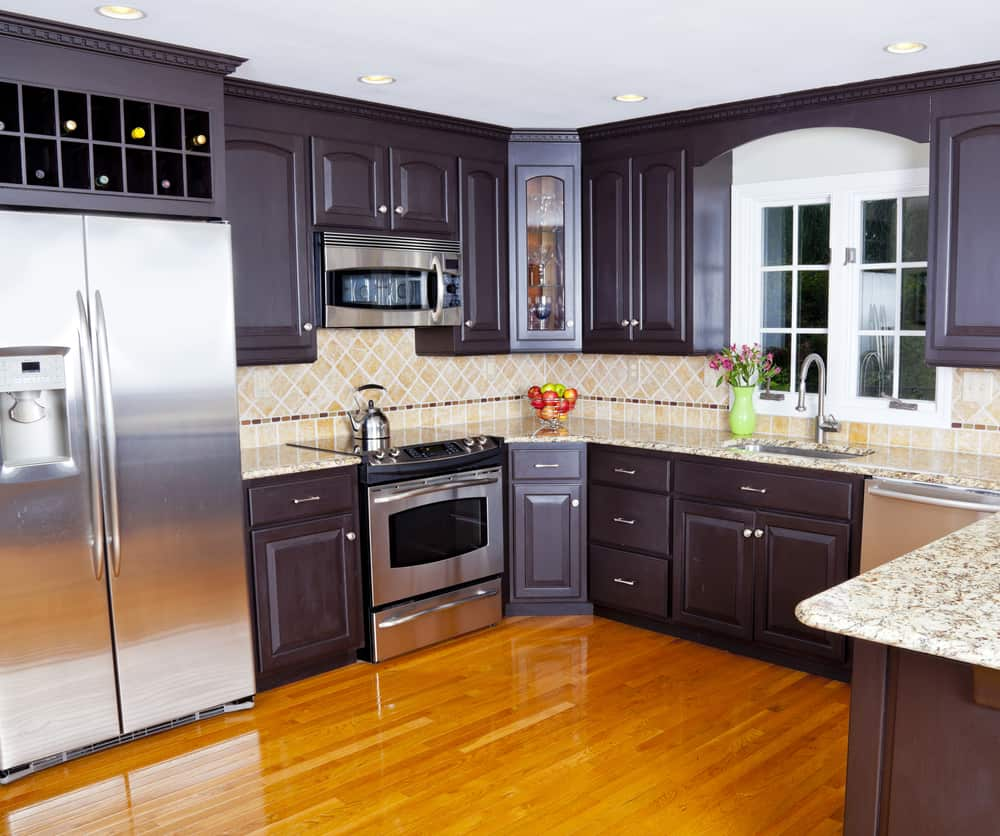 One Color, Different Ways kitchen cabinet ideas