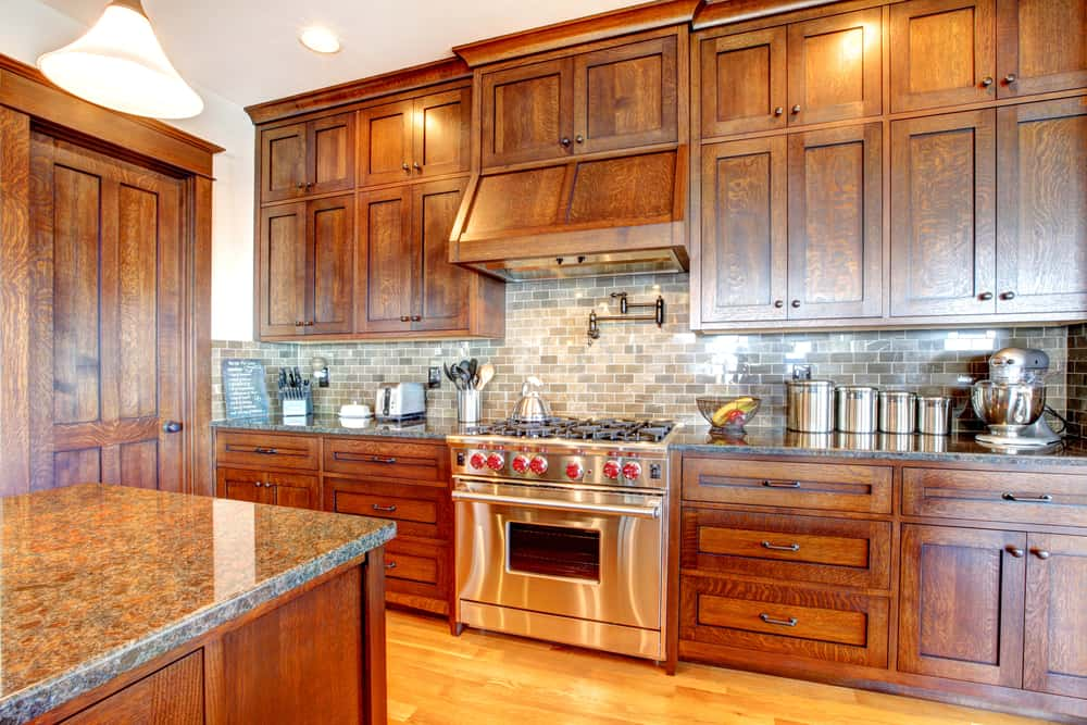 Pine Wood kitchen cabinet ideas