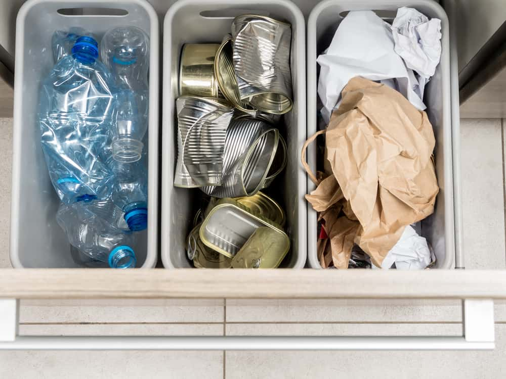 Separate Your Trash kitchen cabinet ideas