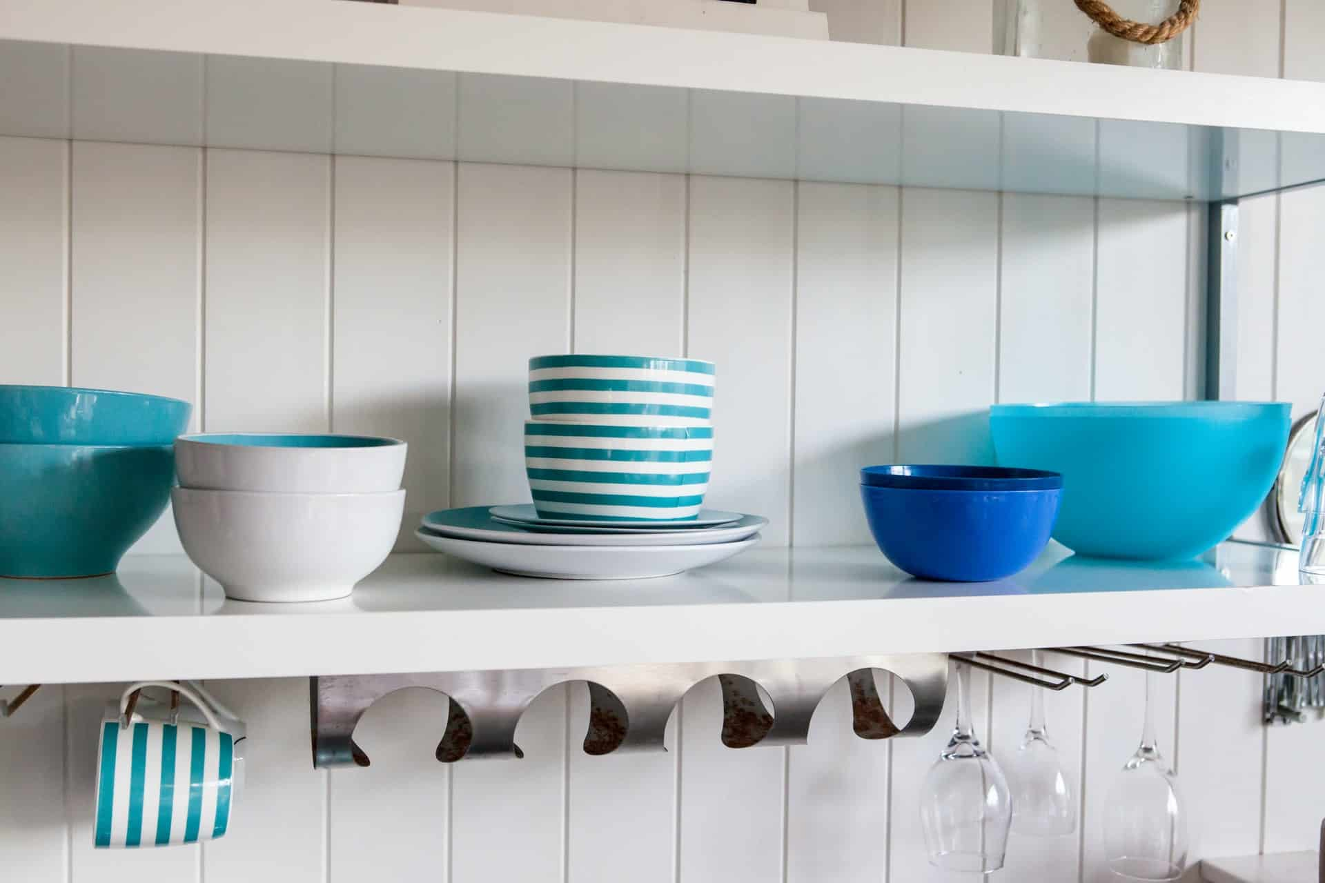 Shades of the Sea coastal kitchen ideas