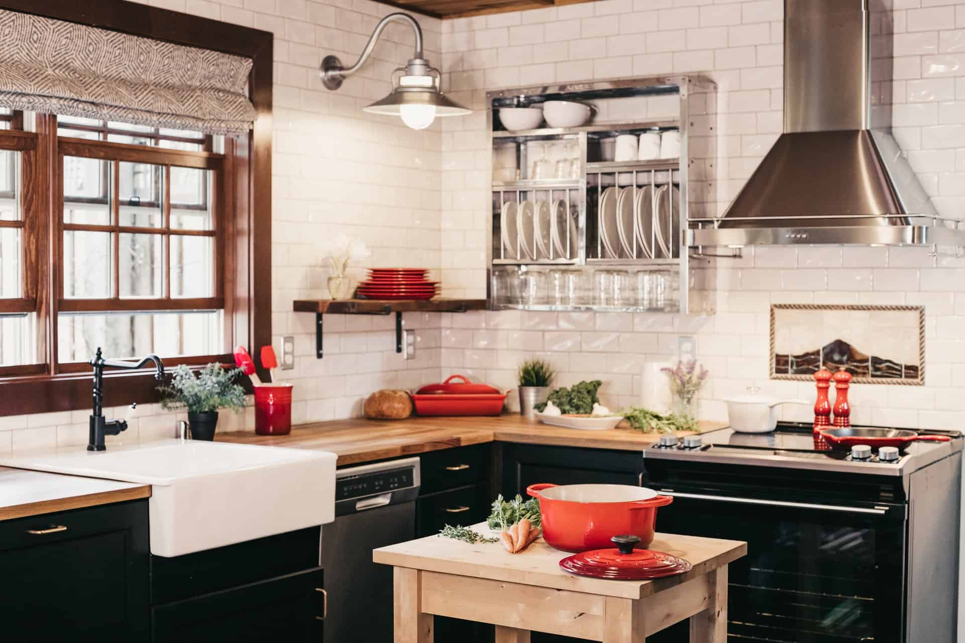 Steel, if You Will kitchen cabinet ideas