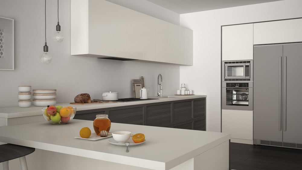 The Minimalist Peninsula kitchen peninsula ideas