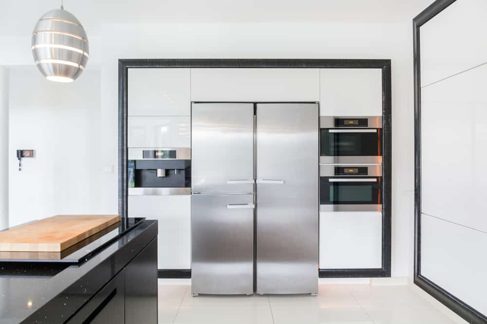The Wall of Appliances modern kitchen ideas