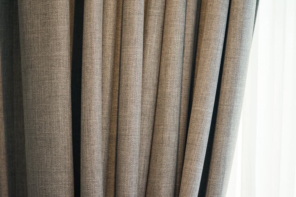 Thick Fabric Kitchen Curtain Ideas