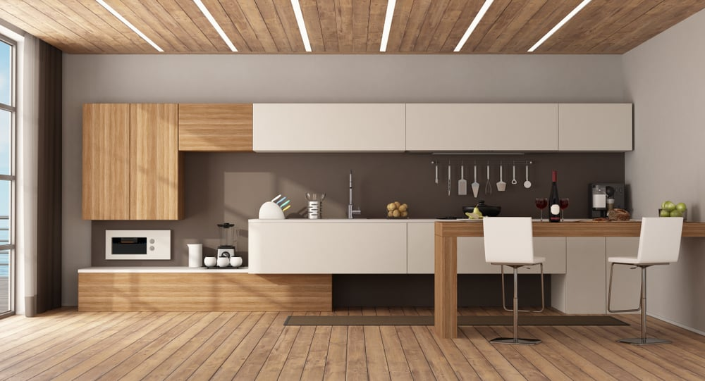 Think Simple kitchen peninsula ideas