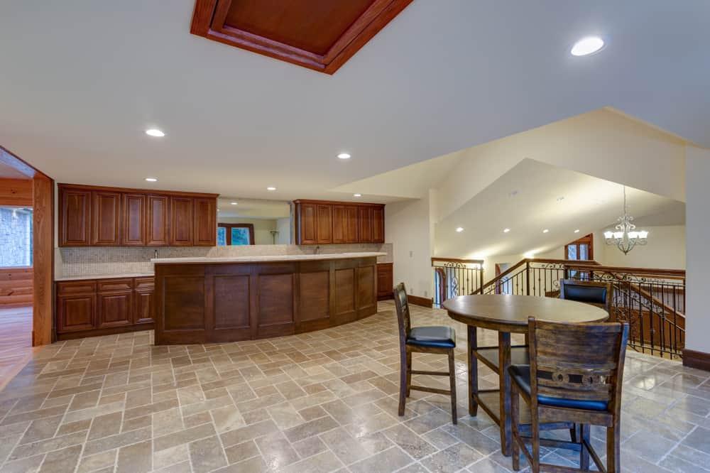 Tiled Kitchen Nook kitchen nook ideas