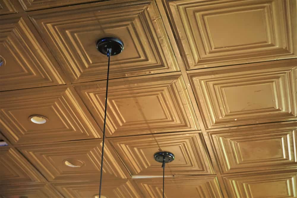 Tin Coverage Ceilings kitchen ceiling ideas