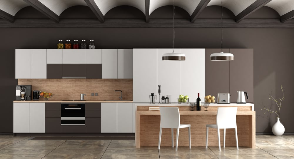 Two-Toned Different Ways kitchen cabinet ideas
