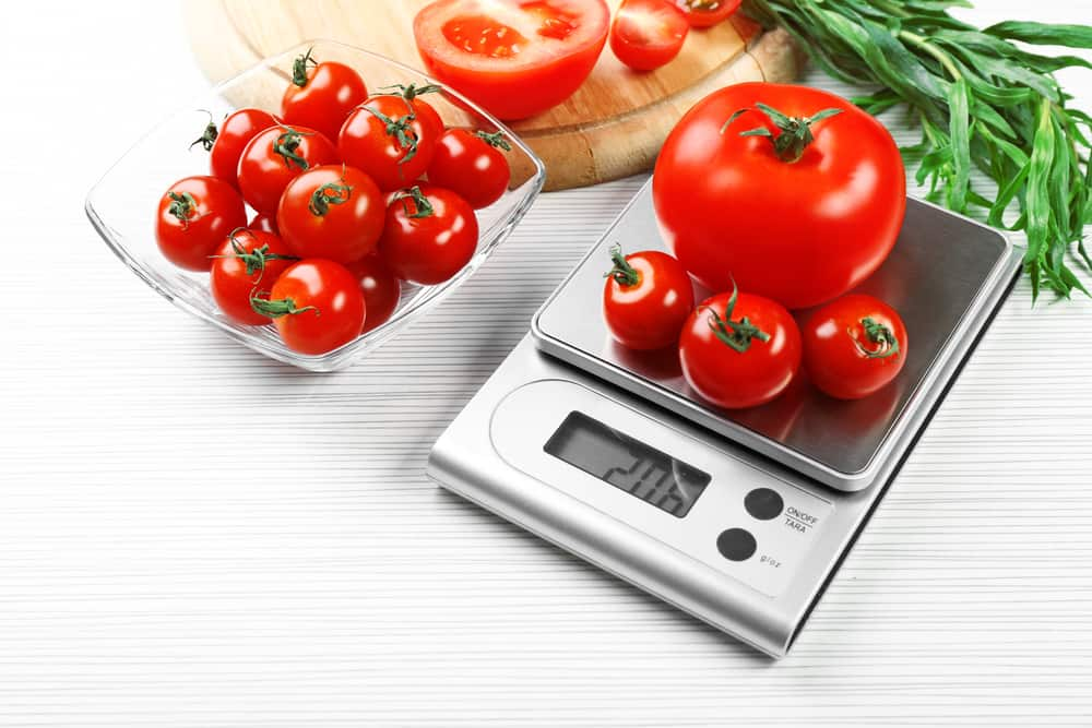 Weigh your Ingredients with a Kitchen Scale