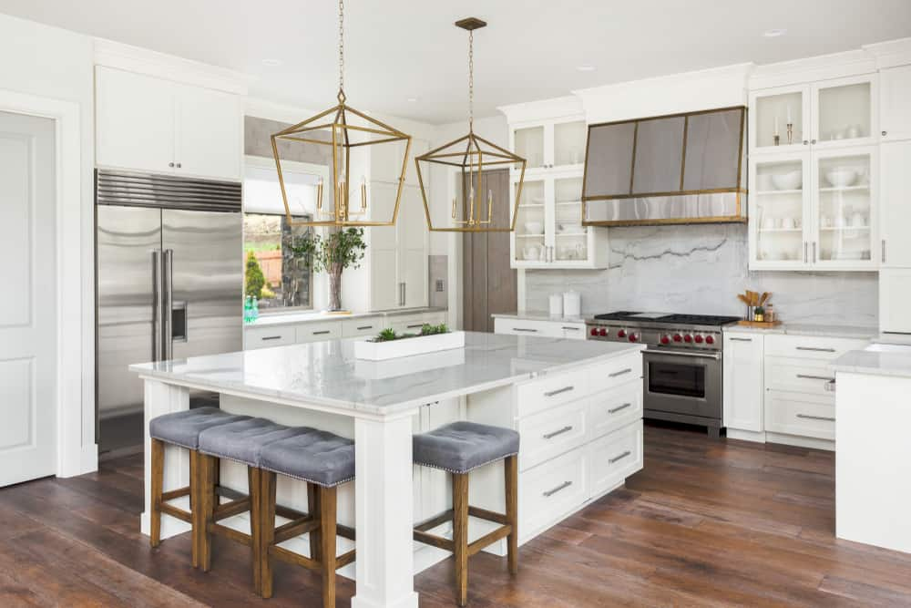White it Out kitchen cabinet ideas