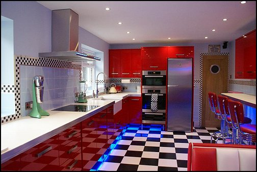 50's kitchen retro kitchen ideas