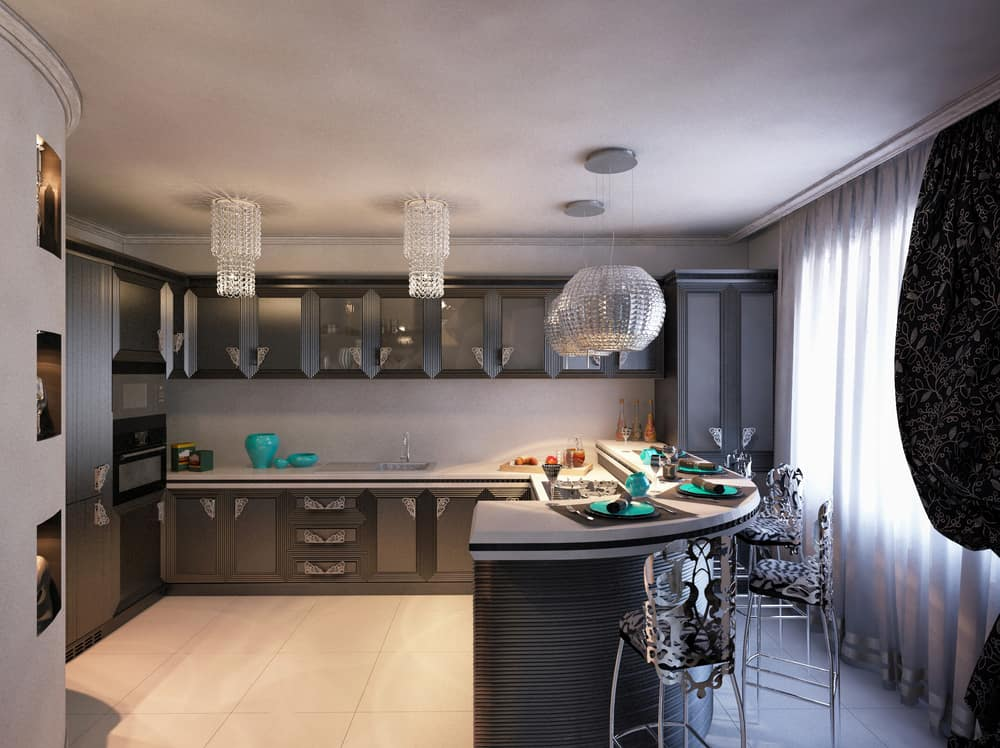 Art Deco retro kitchen ideas