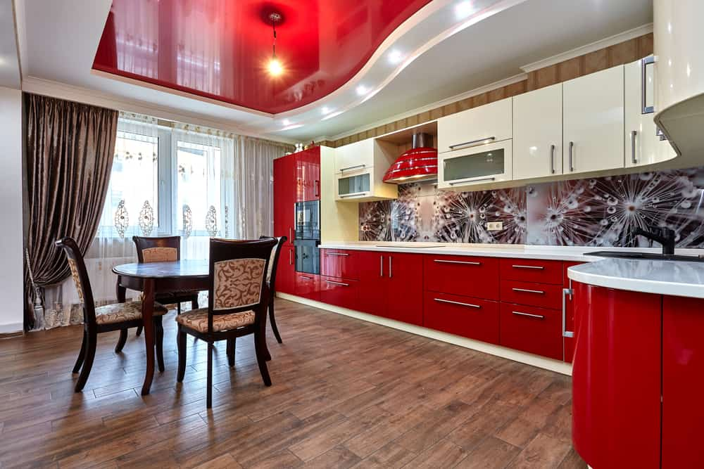 Artsy Backsplash retro kitchen ideas