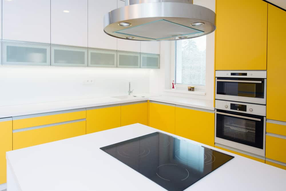 Bring Back the Homey Feel in White yellow kitchen ideas