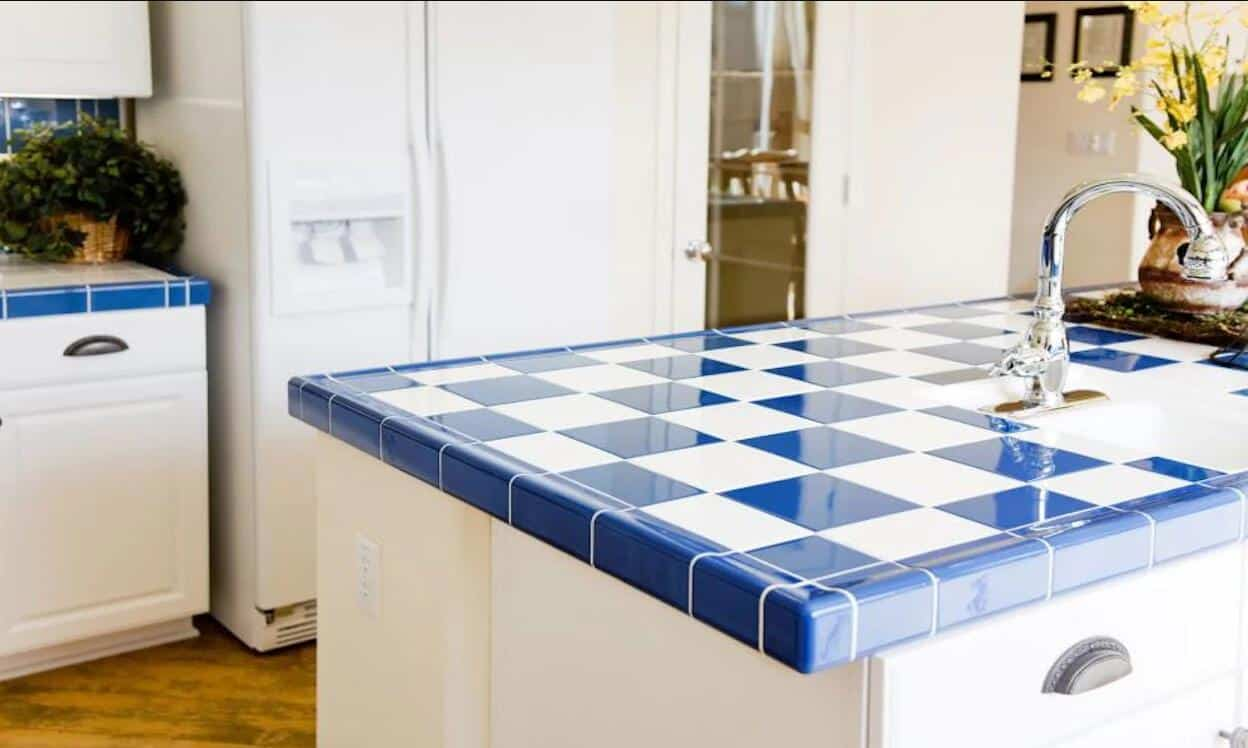 Ceramic Tile Countertop kitchen counter ideas