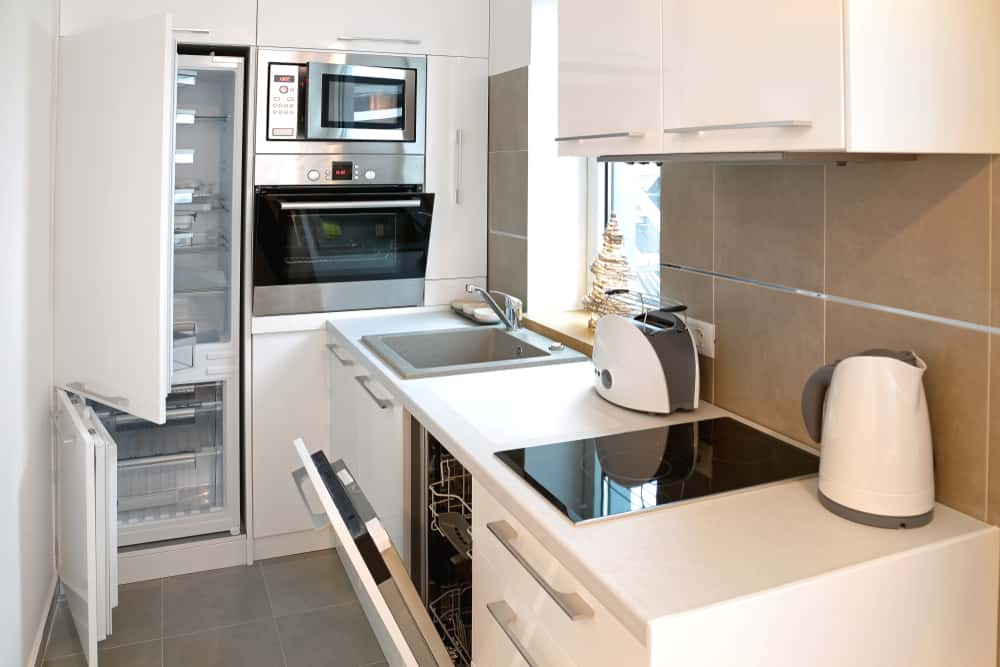 Completely Functional tiny house kitchen ideas