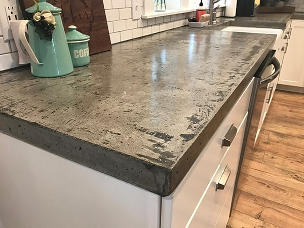 Concrete Countertop kitchen counter ideas