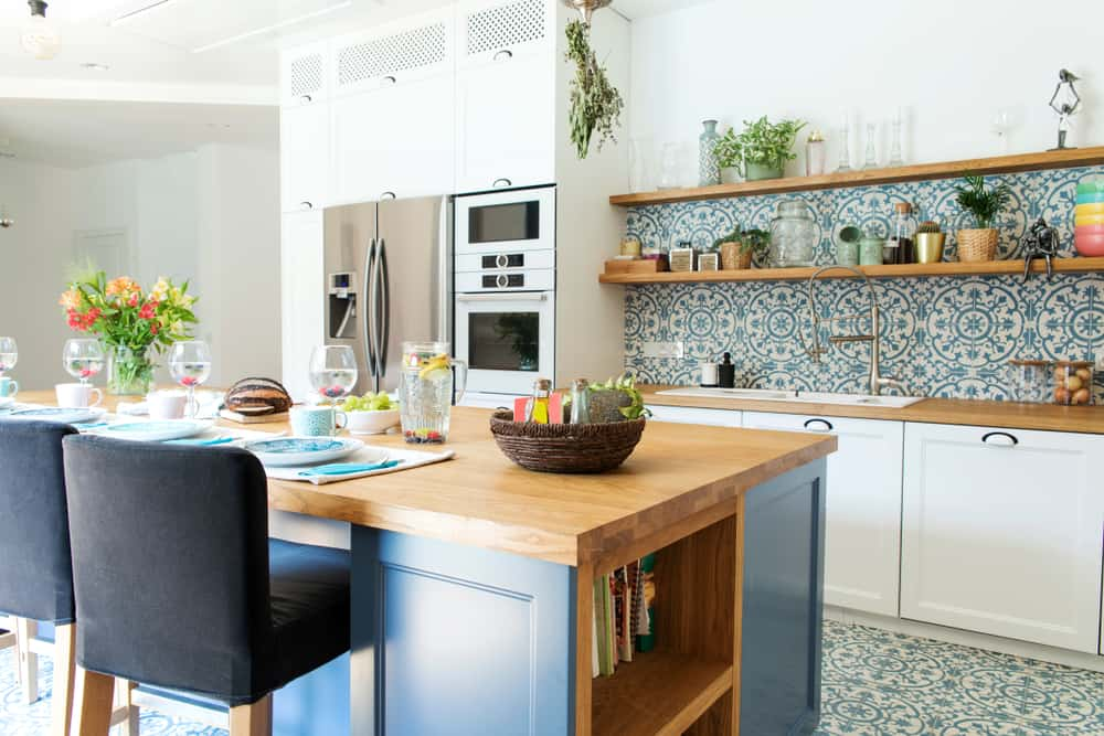 Flowers and Ferns retro kitchen ideas