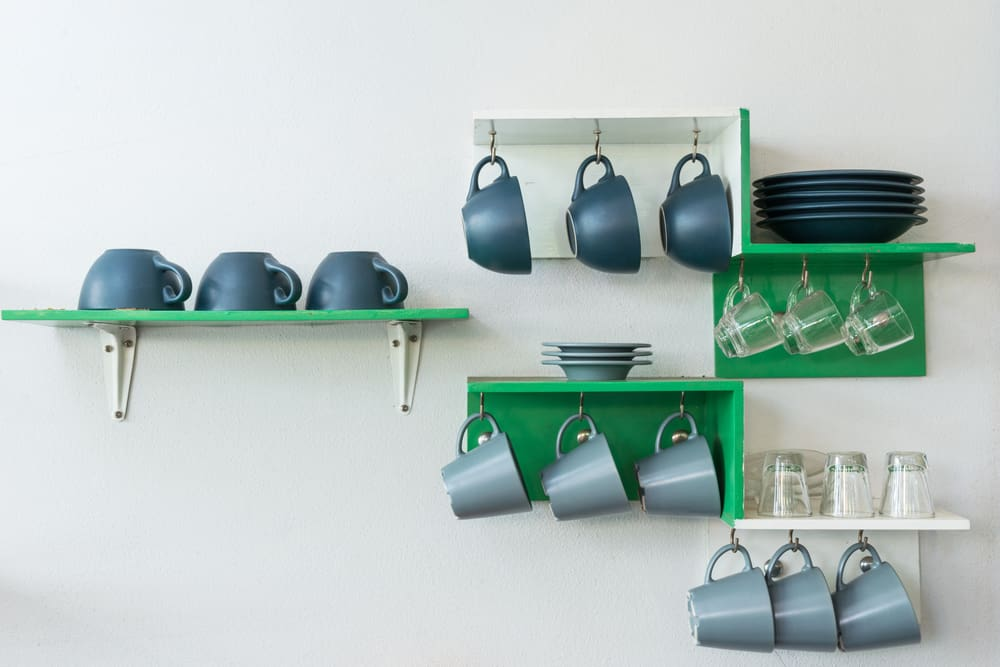Free Your Mugs and Plates kitchen storage ideas