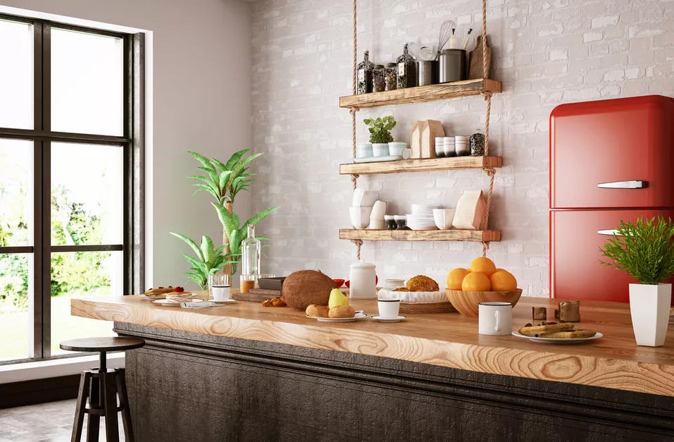 Freshly Organic retro kitchen ideas
